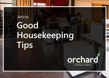 Good Housekeeping Tips