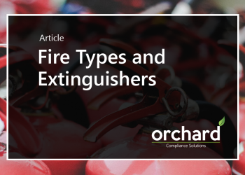 Fire Types and Extinguishers