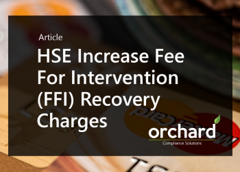 HSE Increase Fee For Intervention (FFI) Recovery Charges